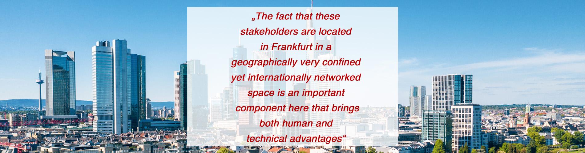 stakeholders in frankfurt